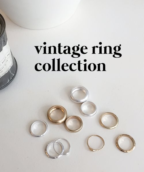 vintage ring collection