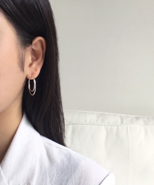 (silver925) new moon earring