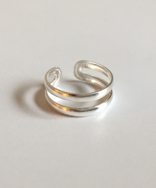 (silver925) sage toe ring