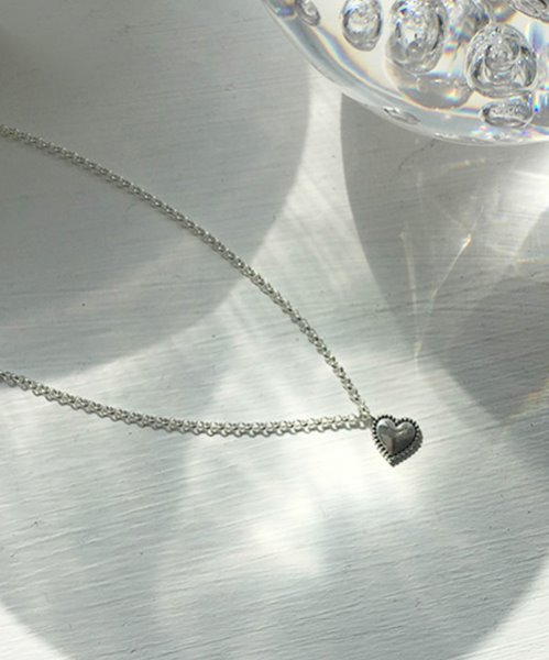 (silver925) mone necklace