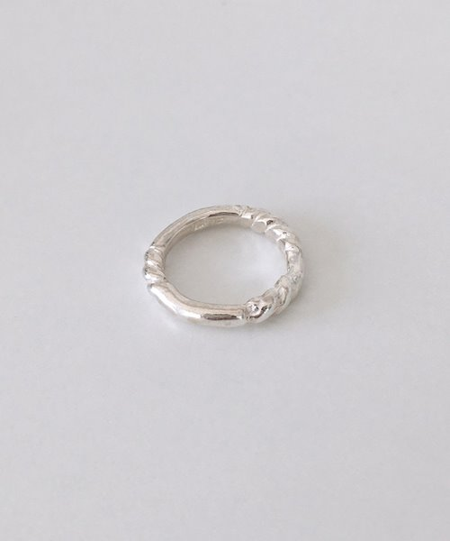 (silver925) rope ring