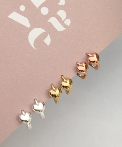 (silver925) mini onetouch earring