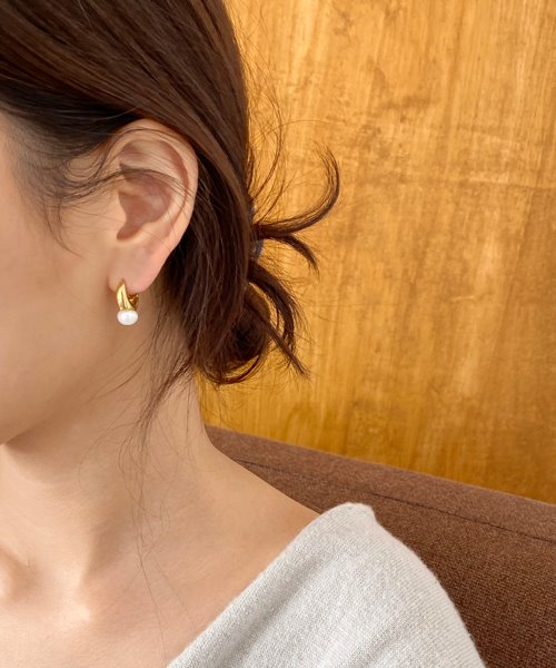 (silver925) cello onetouch earring
