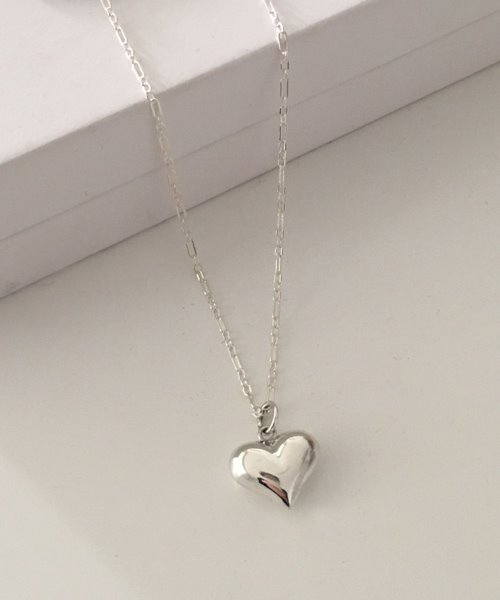 (silver925) bumble love necklace