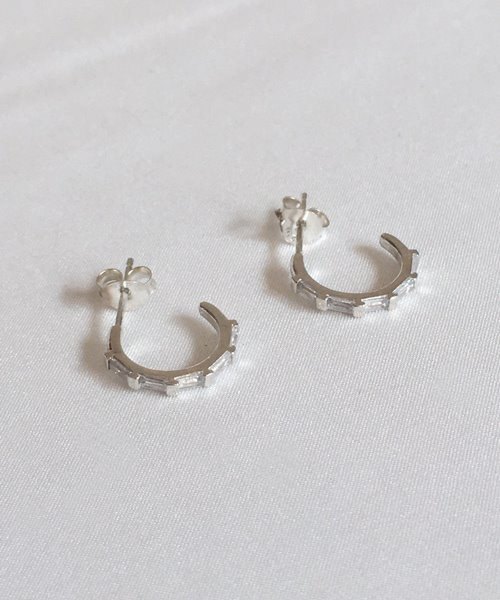 (silver925) tods earring