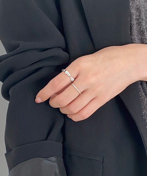 (silver925) shape ring