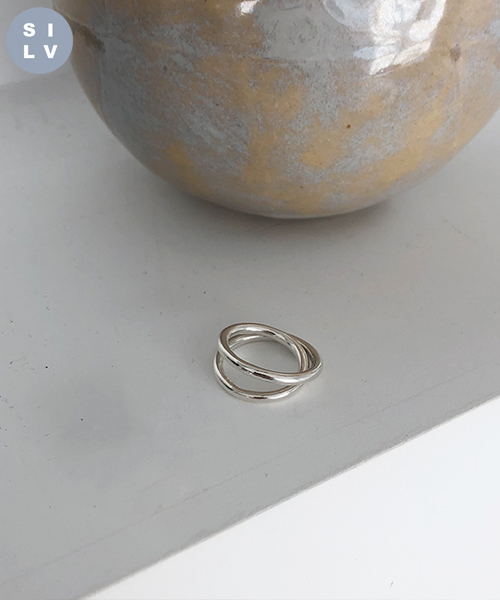 (silver925) collage ring