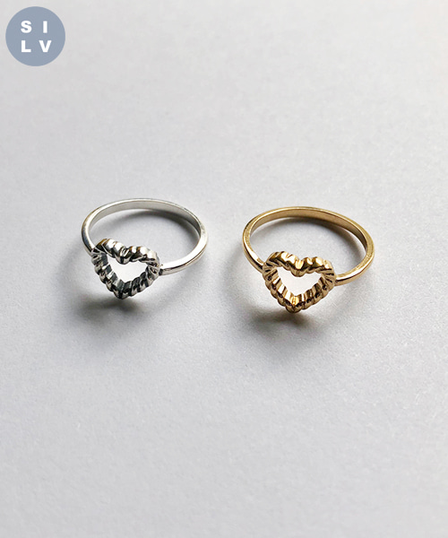 (silver925) teddy ring